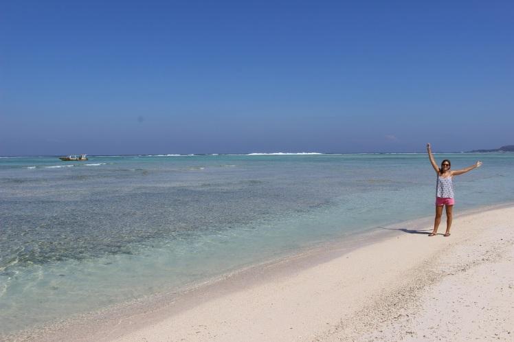 La plage sud-ouest de Gili Air